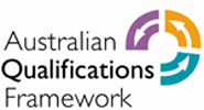 Recognised by the Australian Qualifications Framework